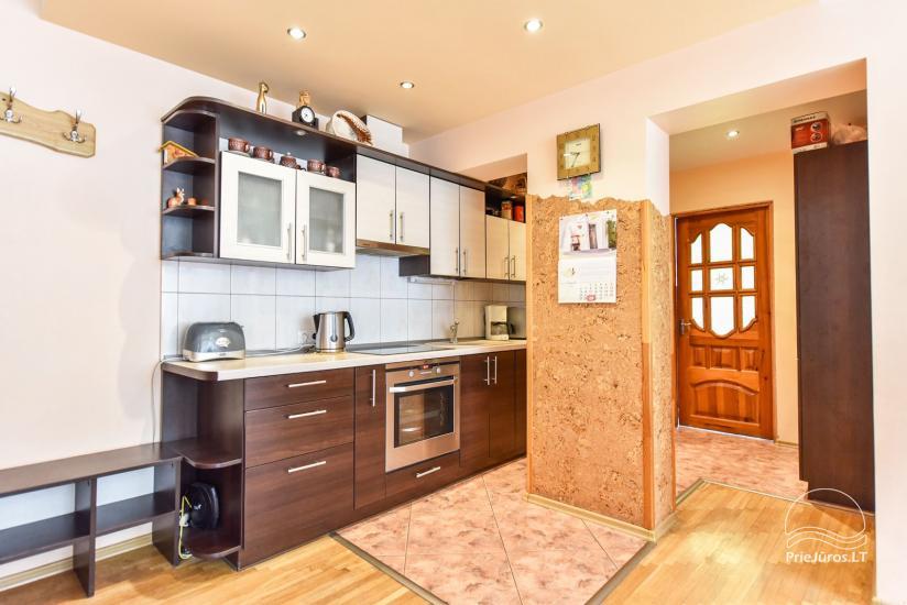 Trzy pokoje mieszkanie czynsz w Nida - 6