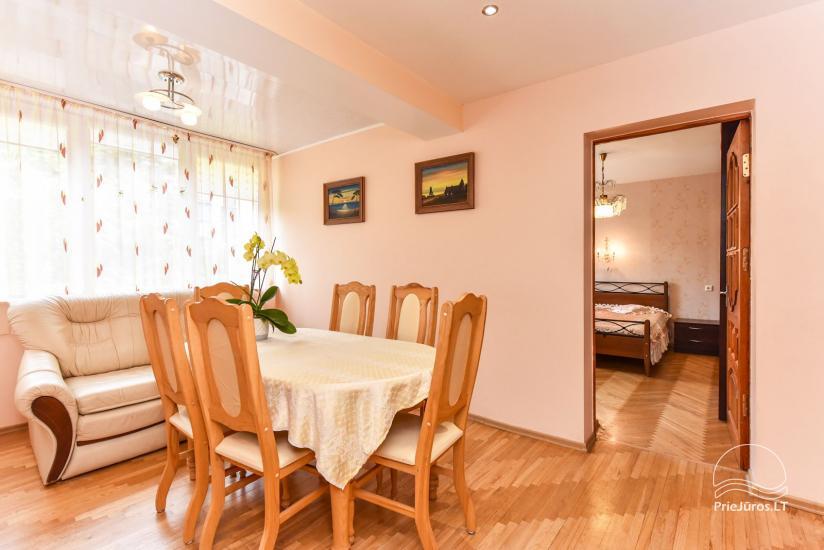 Trzy pokoje mieszkanie czynsz w Nida - 5
