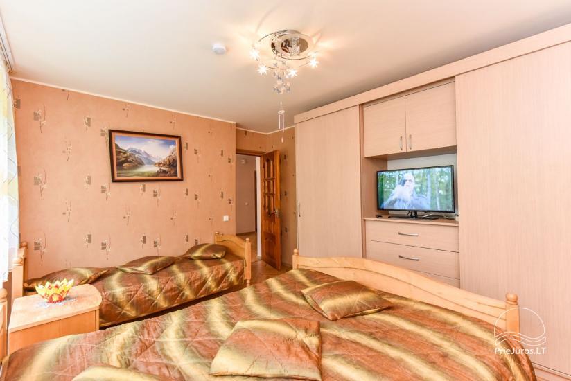 Trzy pokoje mieszkanie czynsz w Nida - 11
