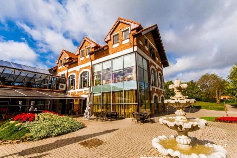 RADAILIU DVARAS - apartament - restauracja, 7km do Klajpedy
