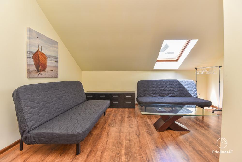 Trójpokojowe apartamenty w Połądze (mogą pomieścić do 6 osób) - 5