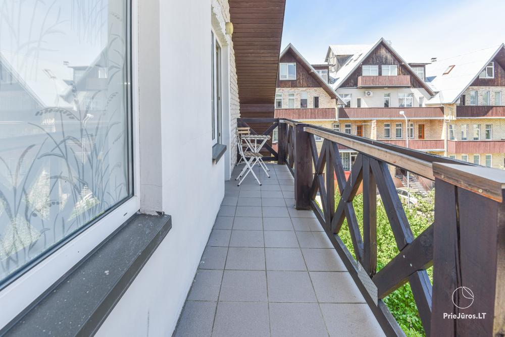 Trójpokojowe apartamenty w Połądze (mogą pomieścić do 6 osób) - 11