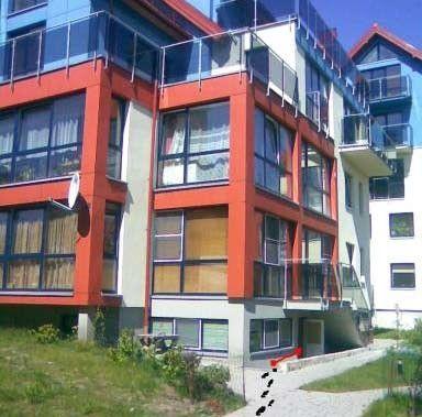 Apartamenty w Nidzie: apartamenty jednopokojowe dla maksymalnie 4 osób