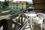 Dwupokojowy apartament z balkonem, łóżko dziecięce, bezpłatny parking