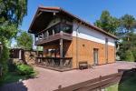 Luksusowa willa - dom w centrum Połągi – prywatny dziedziniec, 400 m do morza