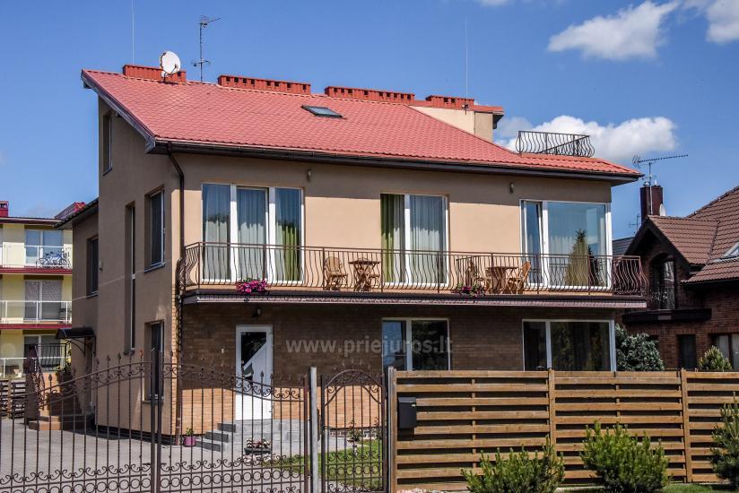 Pokoje i apartamenty w Połądze, dom gościnny SMILGA - 2