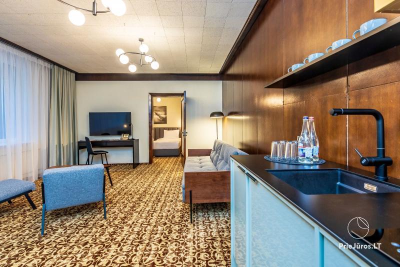 Žilvinas Hotel Palanga - Apartamenty 2-3 pokojowe zaledwie 200 metrów do morza!