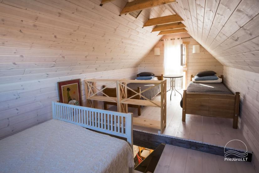 Pokoje do wynajecia w Sventoji dla wakacje nad morzem w Litwie - 11