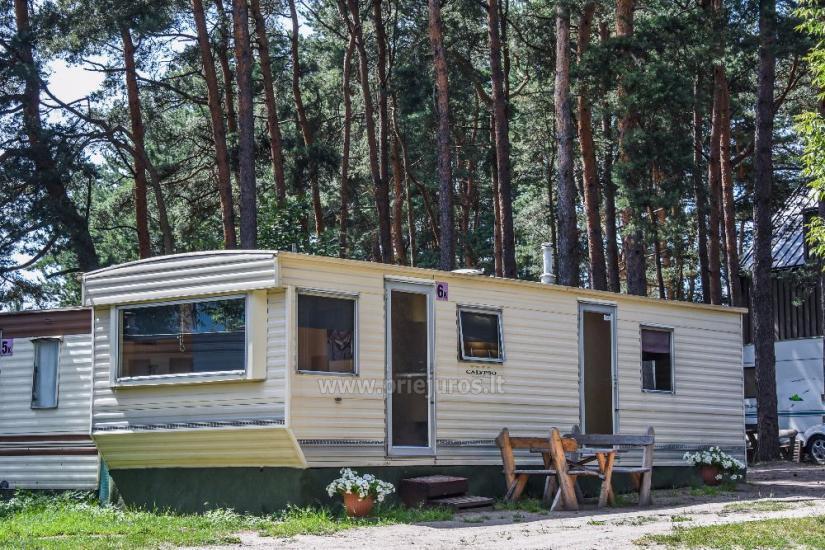 Małe domy wakacyjne z wygodami do wynajęcia w Sventoji - 6