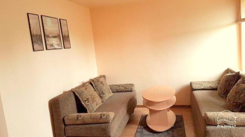 1-2 pokojowe apartamenty w Nidzie. Parter, 500 metrów do morza