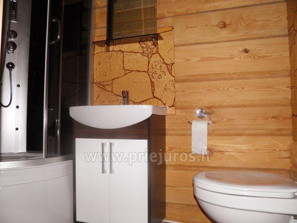 Dwupokojowe mieszkanie i pokoje do wynajęcia w Sventoji w drewnianym domu - 10