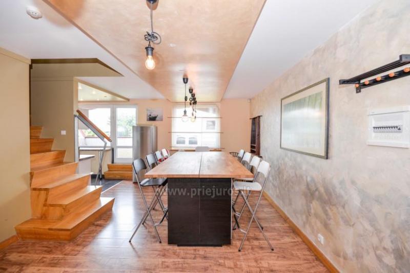 Apartament w Nidzie na 8-10 os. z kominkiem, balkon