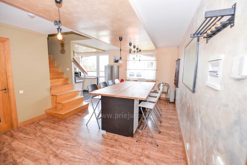 Apartament w Nidzie na 8-10 os. z kominkiem, balkon - 2