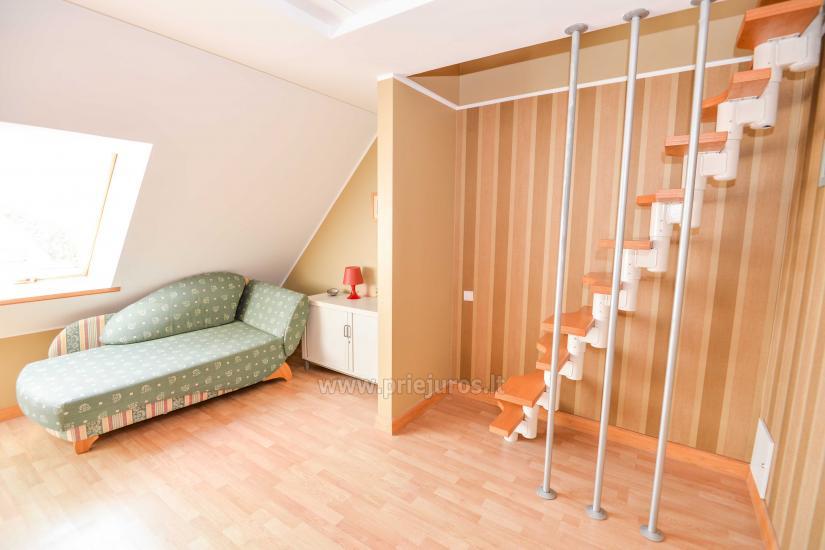 Apartament w Nidzie na 8-10 os. z kominkiem, balkon - 3