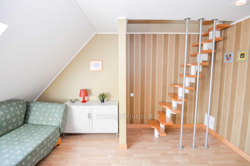 Apartament w Nidzie na 8-10 os. z kominkiem, balkon - 4