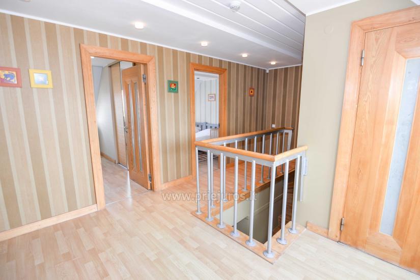 Apartament w Nidzie na 8-10 os. z kominkiem, balkon - 5