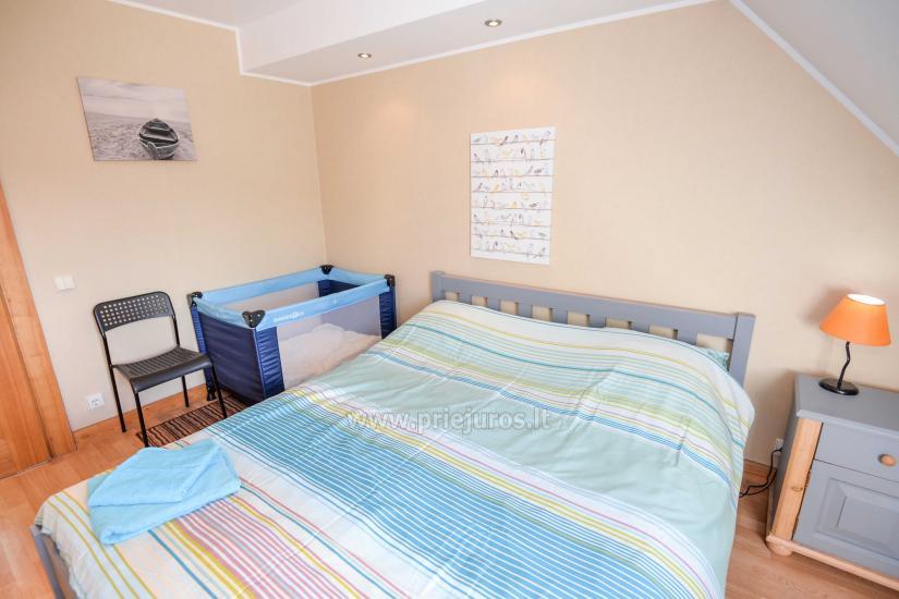 Apartament w Nidzie na 8-10 os. z kominkiem, balkon - 7