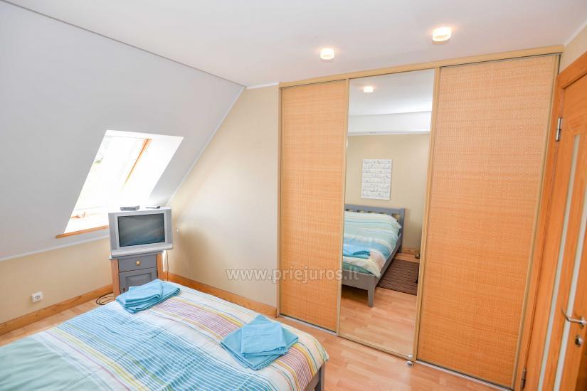 Apartament w Nidzie na 8-10 os. z kominkiem, balkon - 9