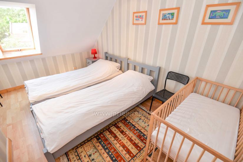Apartament w Nidzie na 8-10 os. z kominkiem, balkon - 10