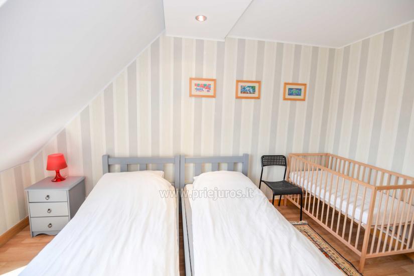 Apartament w Nidzie na 8-10 os. z kominkiem, balkon - 11