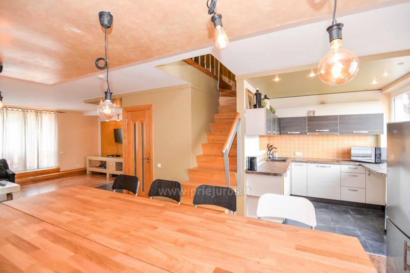 Apartament w Nidzie na 8-10 os. z kominkiem, balkon - 16