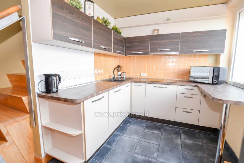Apartament w Nidzie na 8-10 os. z kominkiem, balkon - 17