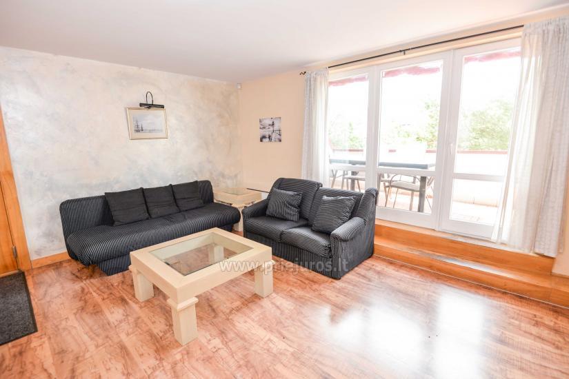 Apartament w Nidzie na 8-10 os. z kominkiem, balkon - 18