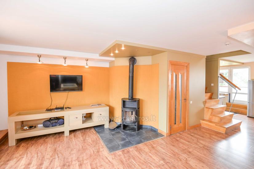 Apartament w Nidzie na 8-10 os. z kominkiem, balkon - 20
