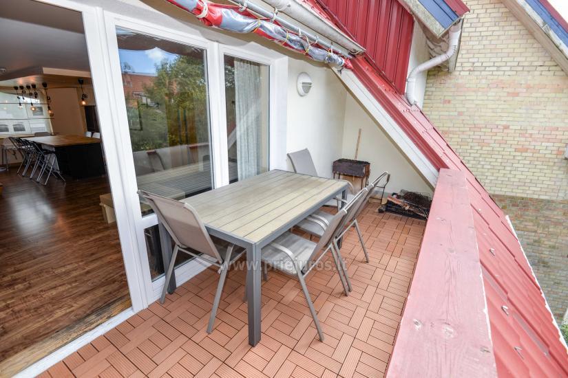 Apartament w Nidzie na 8-10 os. z kominkiem, balkon - 21