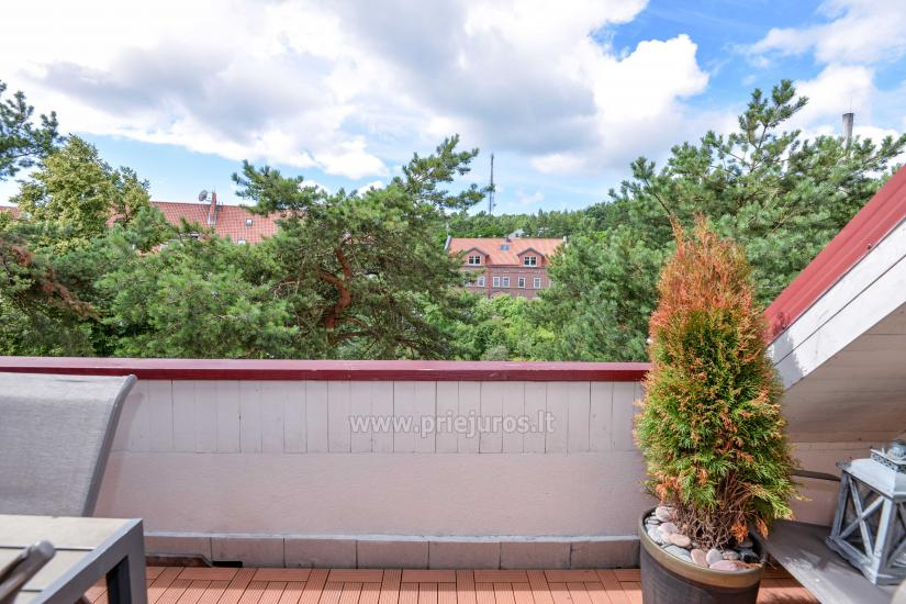 Apartament w Nidzie na 8-10 os. z kominkiem, balkon - 22