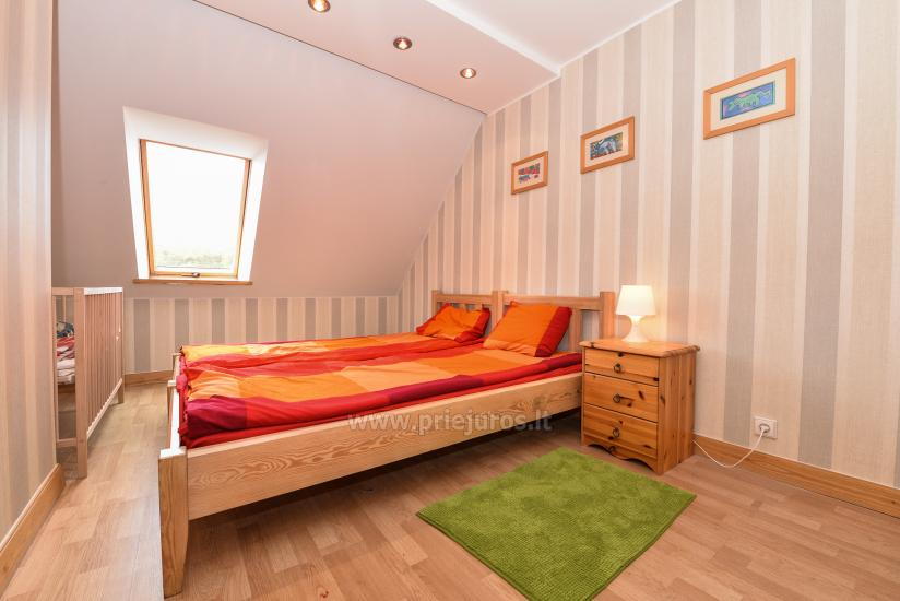Apartament w Nidzie na 8-10 os. z kominkiem, balkon - 24