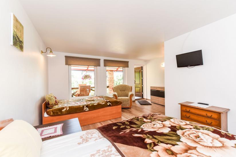 Dom wakacyjny i pokoje w Kunigiskes Mazoji Vila, w pobliżu szlaku rowerowego, 100 metrów do morza - 9
