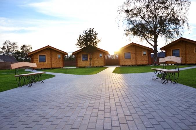 """Wynajem domków w Połądze –miejscowość wypoczynkowa w Kunigiszkach """"Vaivorykštės 11"""" - 17"""