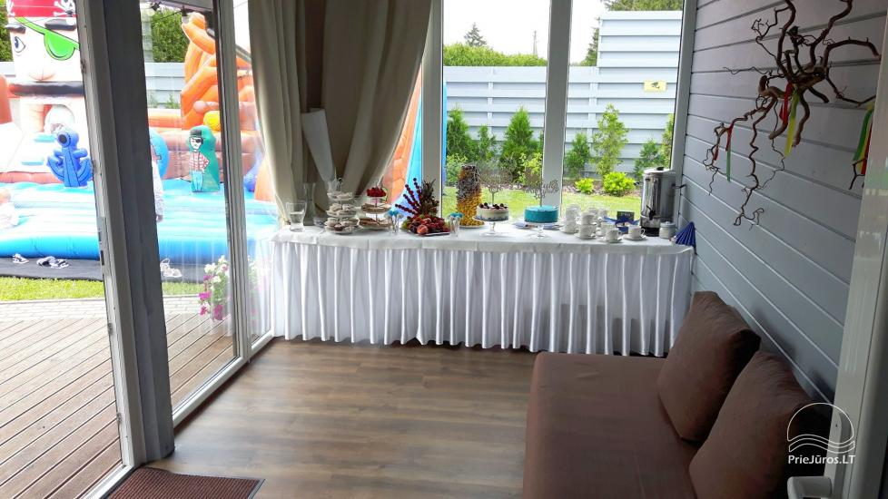 Wieś Turystyka domu z sauna, basen, sala bankietowa - 16