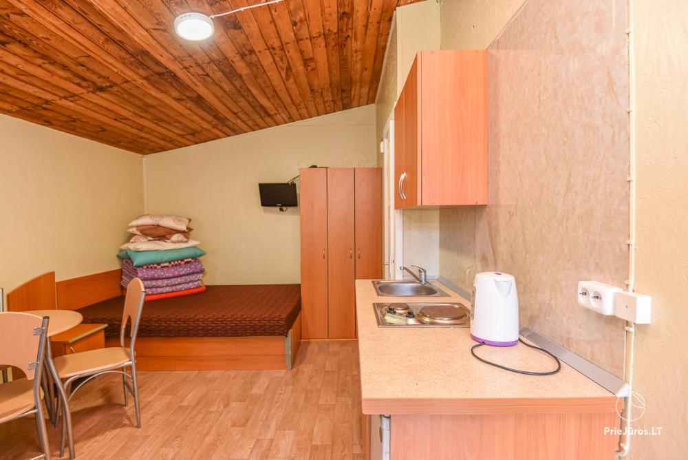 Pokoje i domki letniskowe do wynajęcia w Sventoji nad morzem Bałtyckim - 6