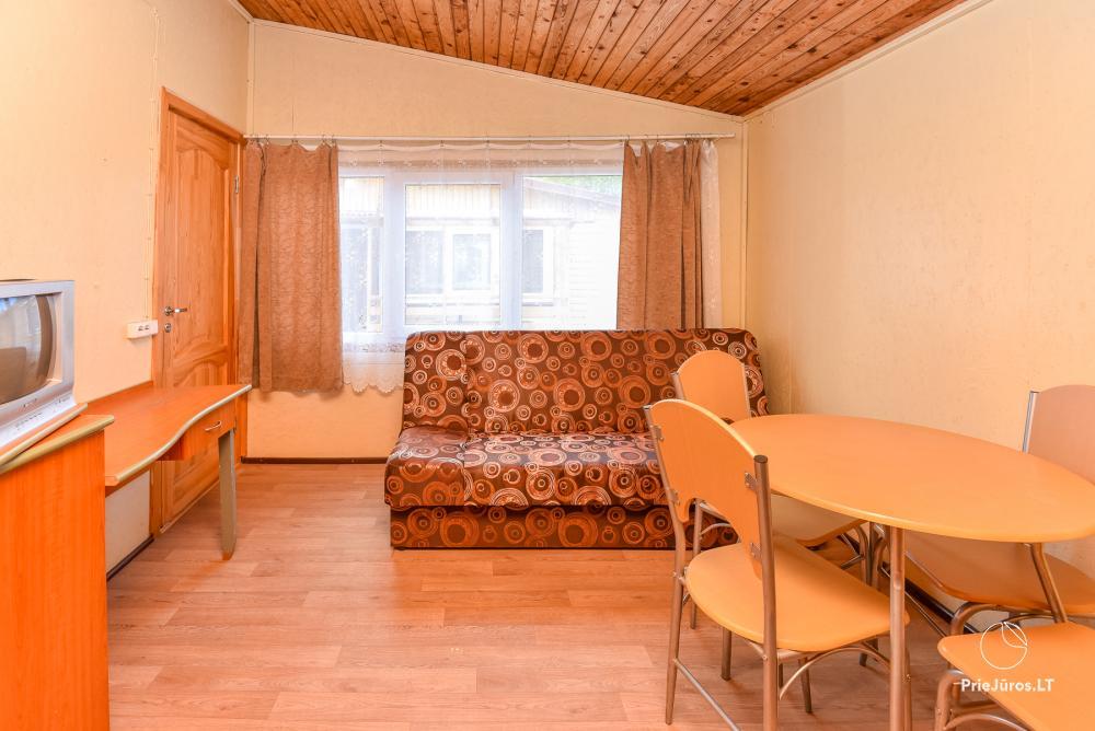 Pokoje i domki letniskowe do wynajęcia w Sventoji nad morzem Bałtyckim - 9