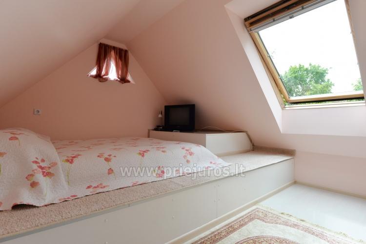 Dwupiętrowy apartament na wynajem w Nidzie - 6