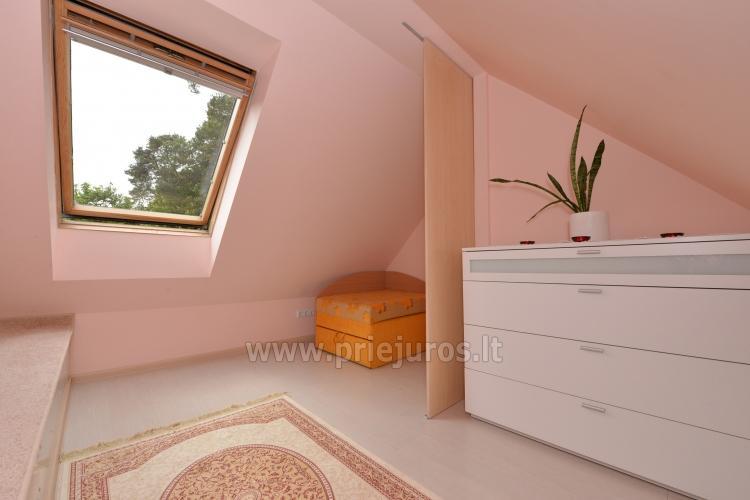 Dwupiętrowy apartament na wynajem w Nidzie - 7