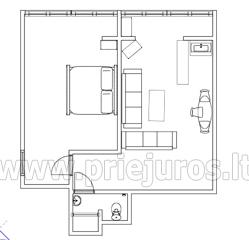 Dwupokojowe mieszkanie do wynajęcia w Pervalka - 22