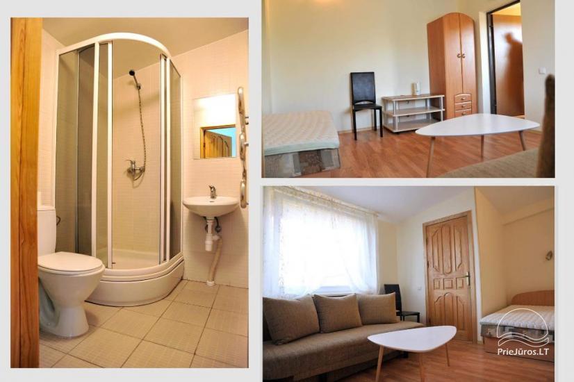 Wygodny pokój trzyosobowy z prysznicem