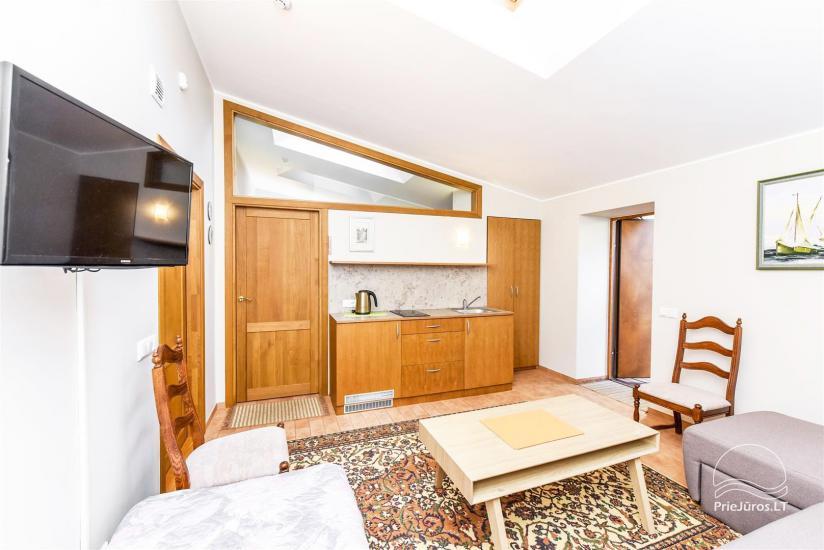 Apartament typu studio z osobnym wejściem w Połądze, w pobliżu parku botanicznego - 5