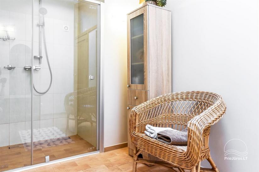 Apartament typu studio z osobnym wejściem w Połądze, w pobliżu parku botanicznego - 6