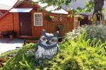 Drewniane domy w Sventoji  Owl and Owlet
