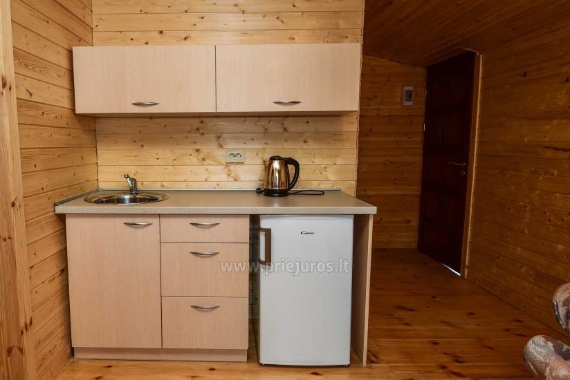 Nowe domki i pokoje z udogodnieniami w Sventoji ZYDROJI LIEPSNA - 21