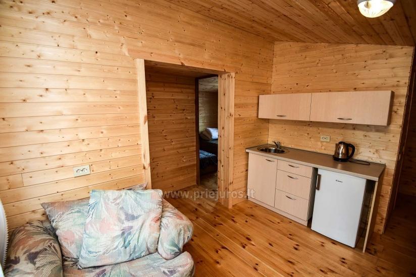 Nowe domki i pokoje z udogodnieniami w Sventoji ZYDROJI LIEPSNA - 23