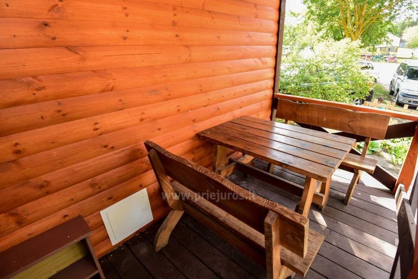 Nowe domki i pokoje z udogodnieniami w Sventoji ZYDROJI LIEPSNA - 26