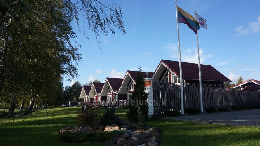 Drewniane domy wakacyjne i przyczepy mieszkalne do wynajęcia w Sventoji - 1