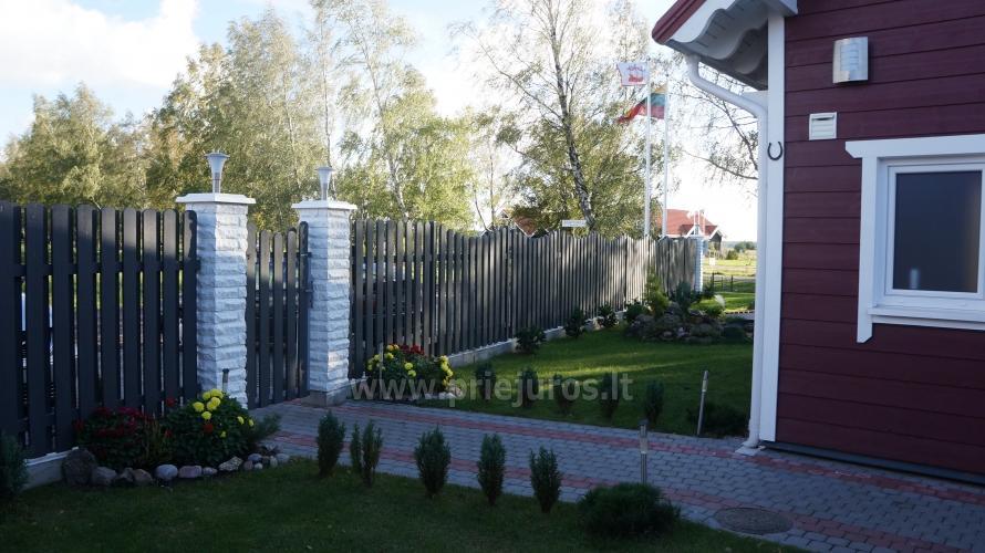Drewniane domy wakacyjne i przyczepy mieszkalne do wynajęcia w Sventoji - 6