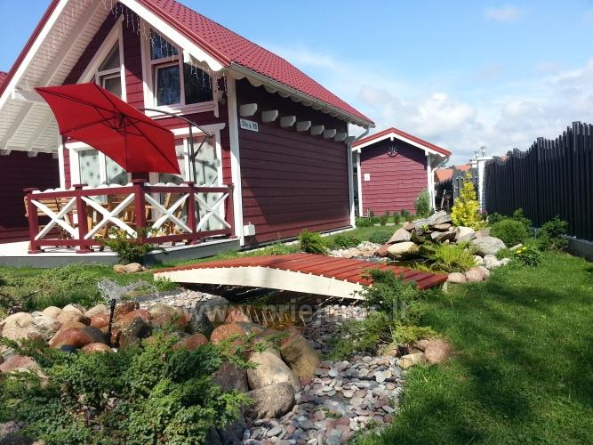 Drewniane domy wakacyjne i przyczepy mieszkalne do wynajęcia w Sventoji - 9