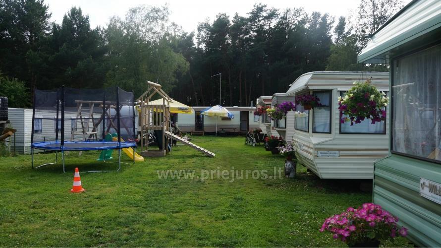 Domki letniskowe i pokoje do wynajęcia w Sventoji - 9